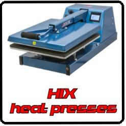HIX heat presses