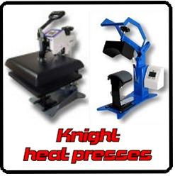 Geo. Knight heat presses