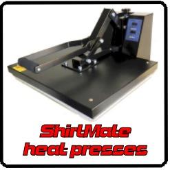 ShirtMate heat presses
