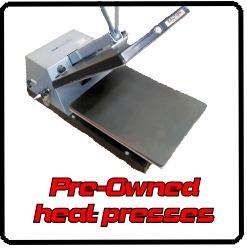 Used heat presses
